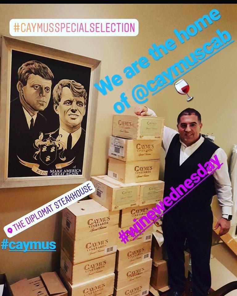 caymus wine regina sask the diplomat